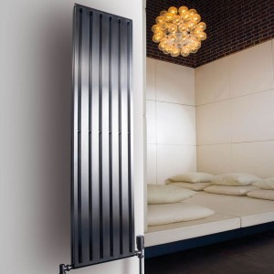 "Aeon ""Supra"" Double Designer Brushed Stainless Steel Radiators"