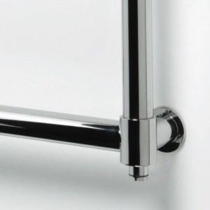 "Aeon ""Tudor"" Designer Polished Stainless Steel Towel Rails (6 Sizes)"