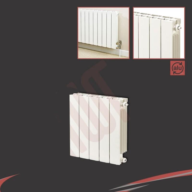428mm (w) x 440mm (h) Trojan White Aluminium