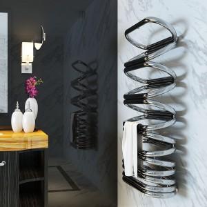 "Aeon ""Ellips"" Designer Polished Stainless Steel Towel Rail"