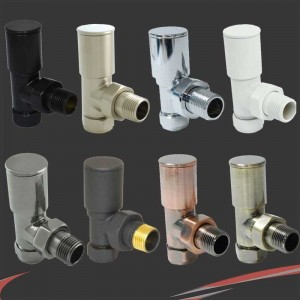 Chelsea Manual Radiator Valves 3 Finishes