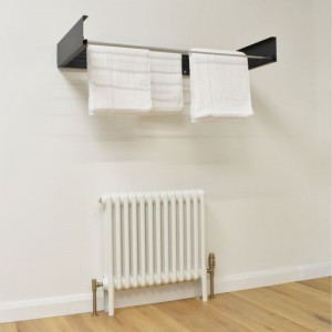Foldable Wall Mounted Towel Hanger - Anthracite