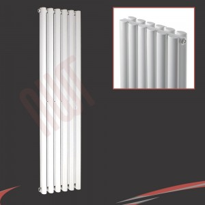 420mm (w) x 1800mm (h) Brecon Double White Radiator