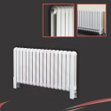400mm (h) x 1032mm (w) Elias White Vertical Radiator