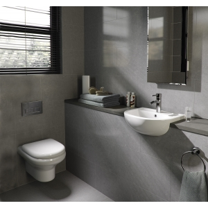 """""""Compact"""" 370mm(w) x 330mm(h) Wall Hung Toilet (Optional Soft Close Seat)"""