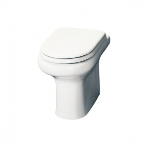 """""""Compact"""" 370mm(w) x 393mm(h) Back To Wall Toilet (Optional Soft Close Seat)"""