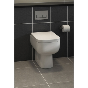 """""""Series 600"""" 350mm(W) X 400mm(H) Back To Wall Toilet (Optional Soft Close Seat)"""