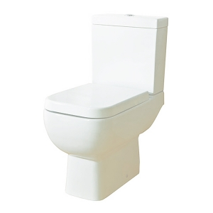 """""""Series 600"""" 350mm(W) X 780mm(H) Close Coupled Toilet (Optional Soft Close Seat)"""