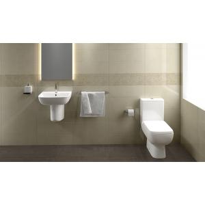 """Series 600"" 520mm (w) Basin & Semi-Pedestal (1 Or 2 Tap Holes)"