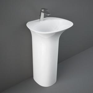 """Sensation"" 550mm(w) x 900mm(h) Freestanding Basin"