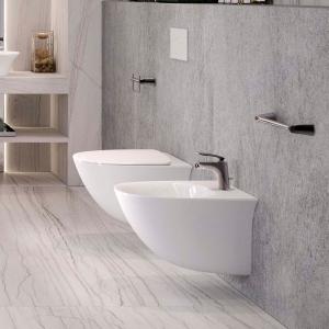 """Sensation"" 380mm(W) X 350mm(H) Maxi Wall Hung Toilet (Includes Soft Close Seat)"