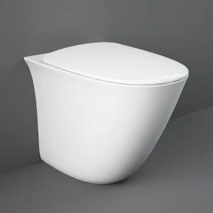 """""""Sensation"""" 380mm(W) X 420mm(H) Back To Wall Toilet"""