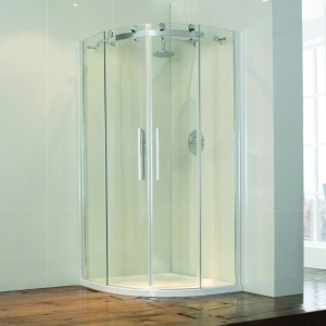 Frameless Double Door...