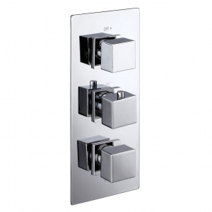Cube Chrome 3-Way Concealed...