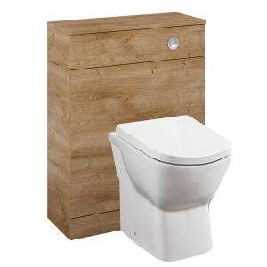 Aquatrend Oak Toilet Unit