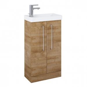 Aquatrend Oak 455mm 2 Door...