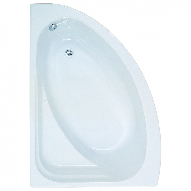 Orlah Luxury Corner Bath & Panel - Left Handed