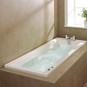 """""""Linear"""" Single Ended Luxury Rectangular Baths 1400mm to 1700mm(L) x 700mm to 750mm(W)"""