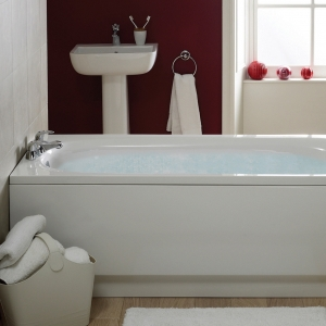 """""""Caymen"""" Single Ended Luxury Rectangular Baths - 1200mm to 1700mm(L) x 700mm(W)"""