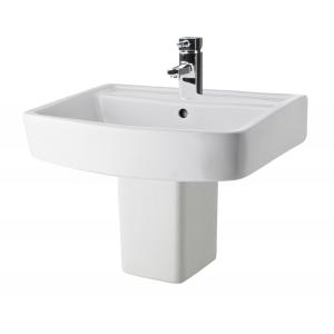 Bliss 520mm Basin & Semi Pedestal