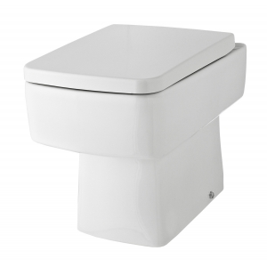 Bliss Square Back to Wall Toilet Pan