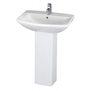 Asselby 600mm Basin & Pedestal