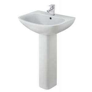 Ava 545mm Basin & Pedestal