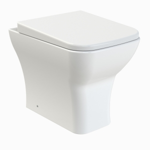 Ava Back To Wall Toilet & Soft Close Seat