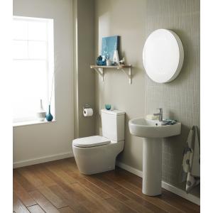 """Provost"" 410mm(w) x 770mm(h) Toilet Pan & Cistern (Optional Seats)"