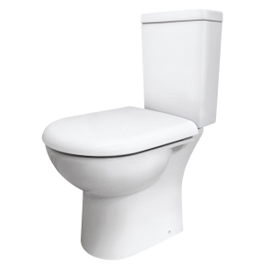 Knedlington Semi Flush to Wall Toilet Pan and Cistern