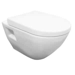 Round Wall Hung Toilet Pan