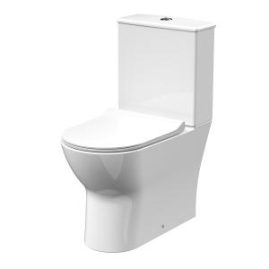 Freya Flush to Wall Close Coupled Toilet & Seat