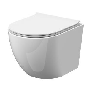 Freya Wall Hung Toilet & Soft Close Seat