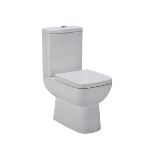 Ambrose Compact Semi Flush to Wall Toilet Pan and Cistern