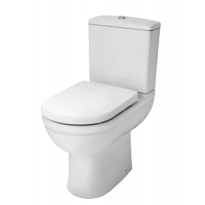 Ivo Comfort Height Close Coupled Toilet Pan and Cistern
