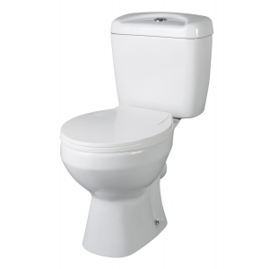 Melbourne Toilet Pan with Cistern and Toilet Seat