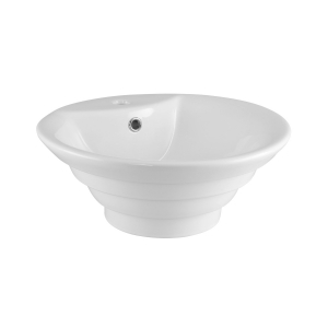 460mm Round Counter Top Basin With Overflow