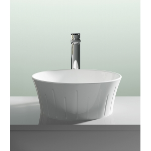 360mm (w) x 140mm (h) x 360mm (d) Round Counter Top Basin