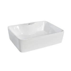 480x370mm Square Ceramic Counter Top Basin