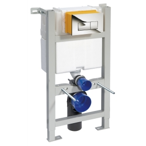 Mid Height Concealed Cistern Wall Frame