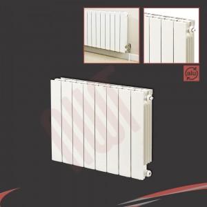 668mm (w) x 690mm (h) Trojan White Aluminium