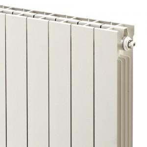 268mm (w) x 1446mm (h) Trojan White Aluminium