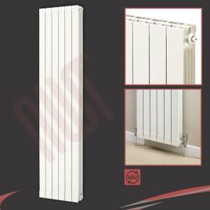 508mm (w) x 1846mm (h) Trojan White Aluminium