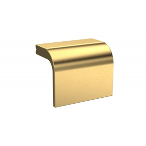 Brushed Brass Square Drop Handle