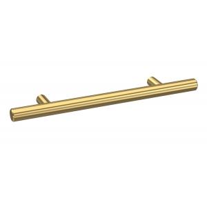 Brushed Brass 155mm Bar Handle