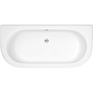 Double Ended Back To Wall 1700mm x 750mm Bath With Panel