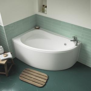 """Left Handed """"Pilot"""" Corner Bath - 1450mm(L) x 950mm(W) - Includes Front Panel"""