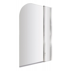 Straight Bath Screen With Fixed Panel 790mm x 1435mm