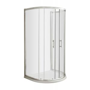 Pacific D Shape Shower Enclosure 1050mm