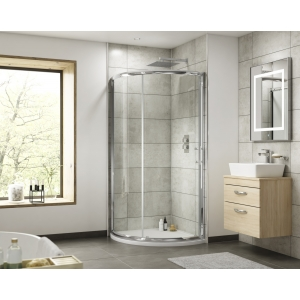 Pacific Single Entry Quadrant Shower Enclosure 860x860mm